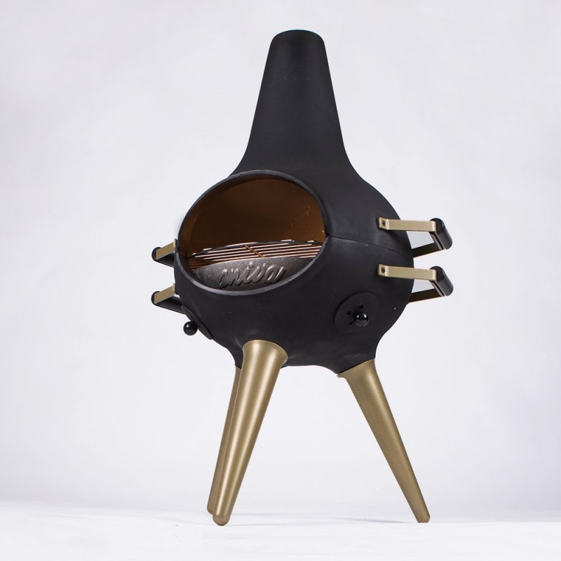 COSA BARBECUE Metal Foot Gold