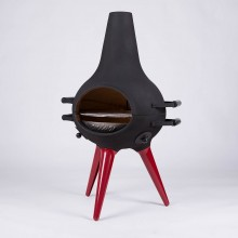 COSA BARBECUE Metal Foot Red