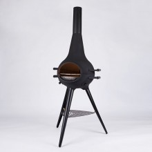 COSA BARBECUE Metal Long Foot Black
