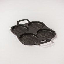 Burger Pan  4 Sections